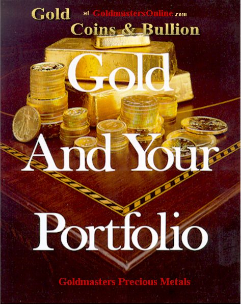 Gold Portfolio - Gold Bars and Coins - Goldmasters USA